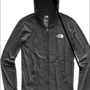 Northface zip up Hoody